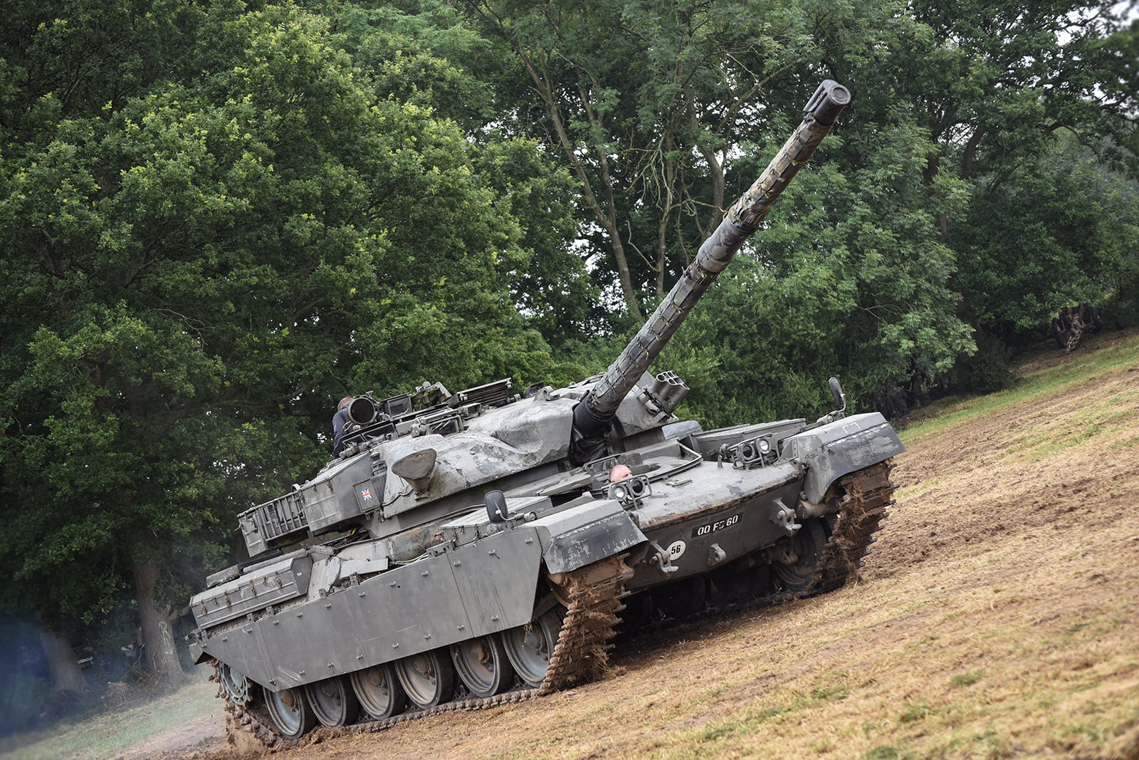 A tank at Capel Military Show