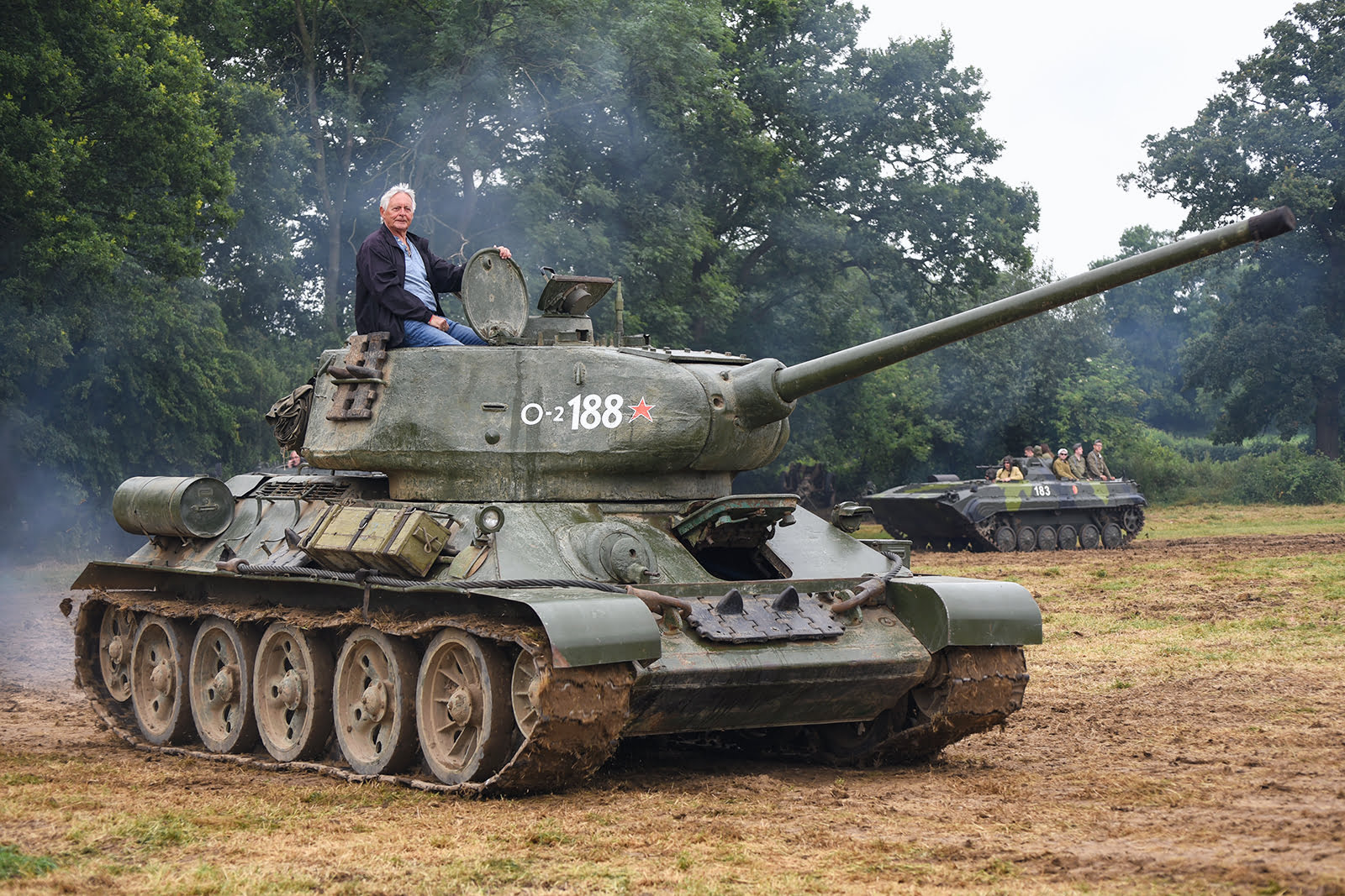 Tank at Capel Military Show
