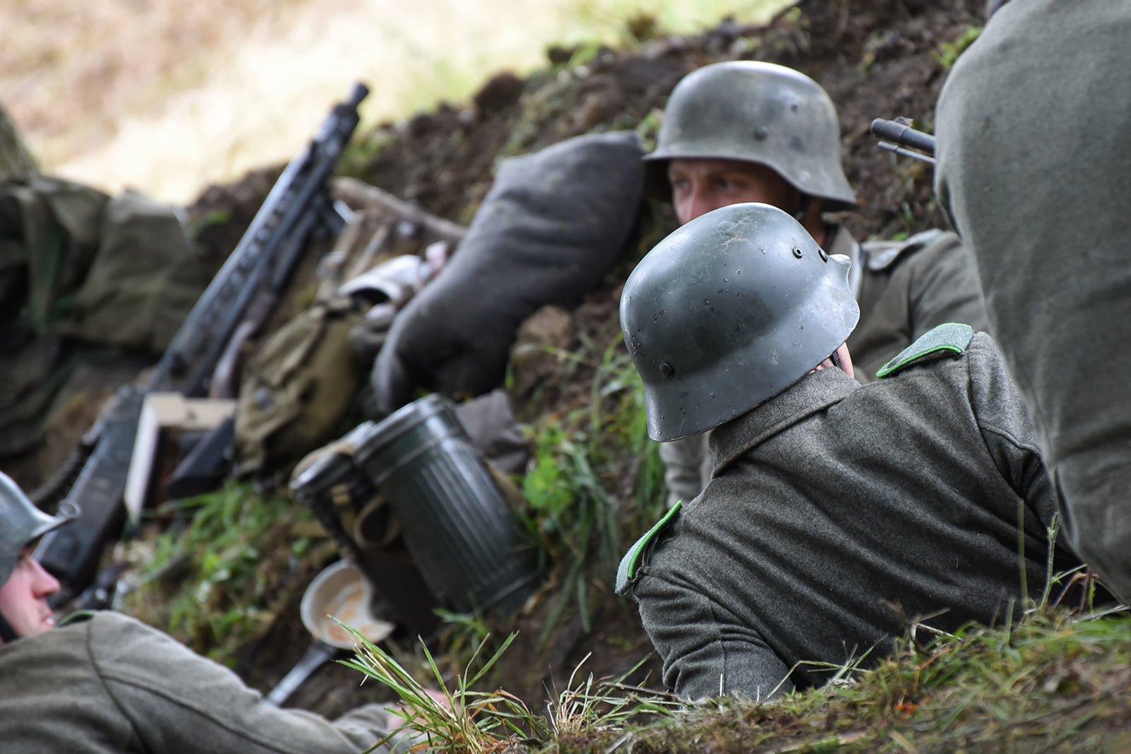 German re-anactors at Capel Military Show