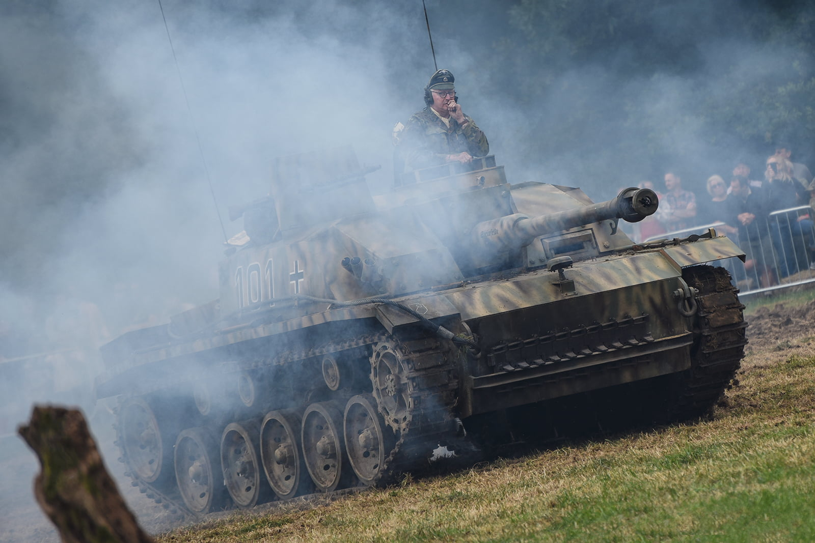 German tank at Capel Military Show