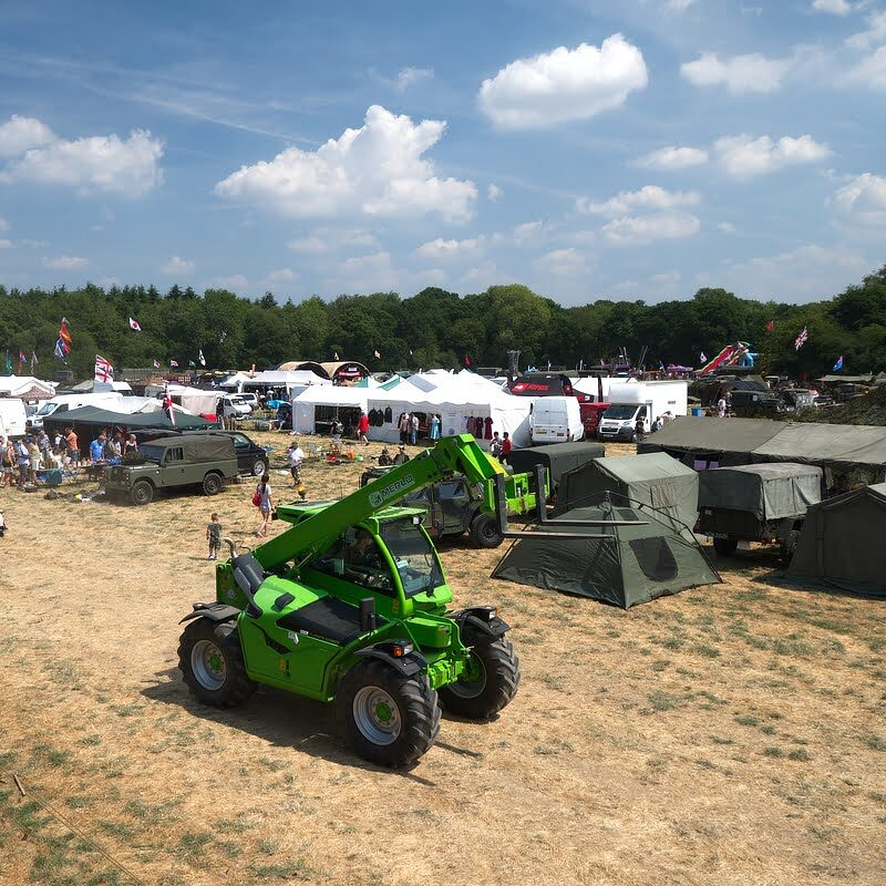 Trade Stands at Capel Military Show